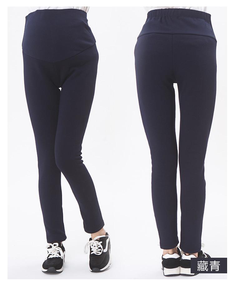黑色托腹加厚打底裤