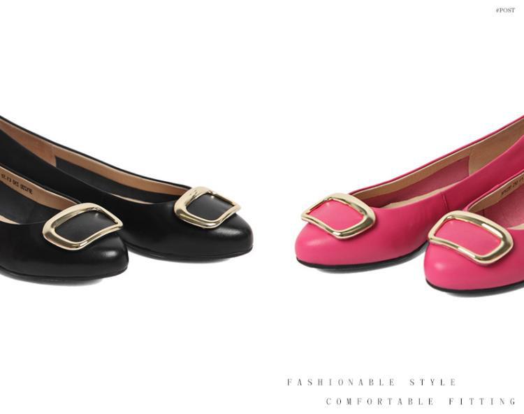 森达senda女鞋专场 森达春季专柜同款时尚甜美羊皮女浅口鞋  品牌名称图片