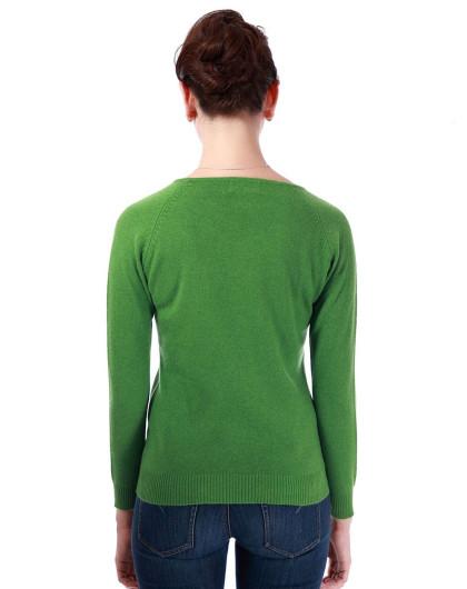 a�eZ[>$��莲娜_雪兰女士插肩袖修身羊绒衫