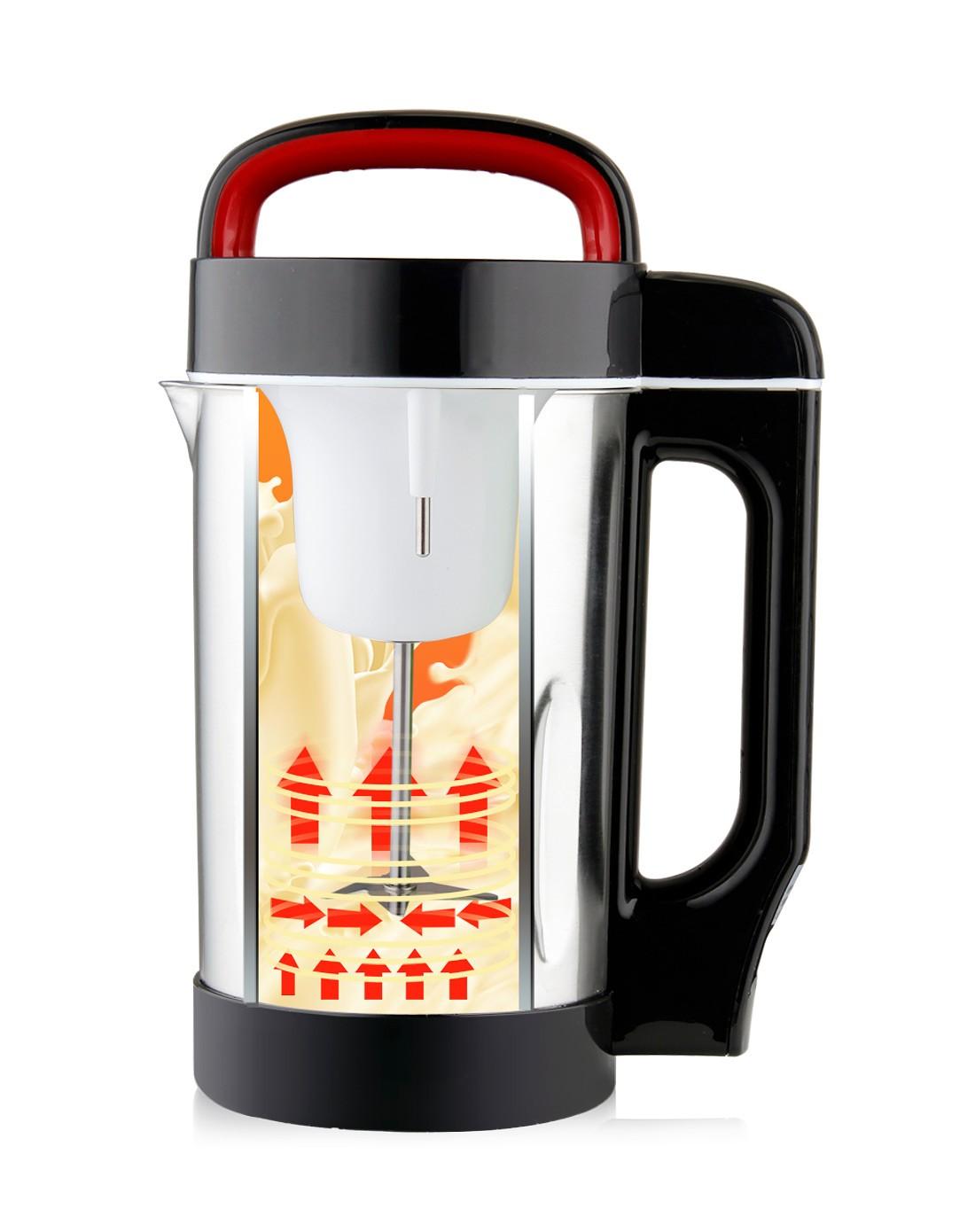 osip专场豆浆介绍英语表情包豆浆机全自动全钢米糊电器SDJ-图片