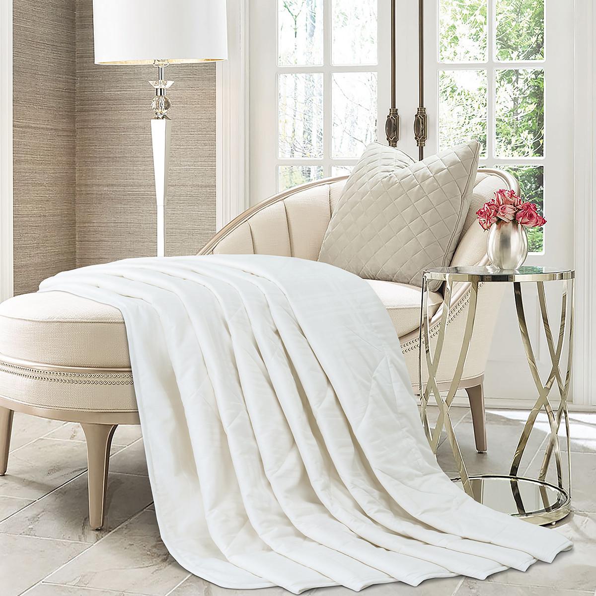雅兰纯羊毛薄款春秋被双人纯棉保暖1.5m床被芯冬被COLOR恬梦100%纯羊毛夏被