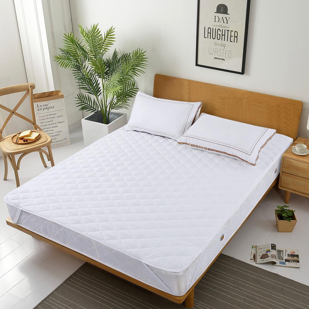 Ramada【年底清仓】席梦思床褥子保护罩床垫床褥褥子床笠床褥薄床垫COLOR白色