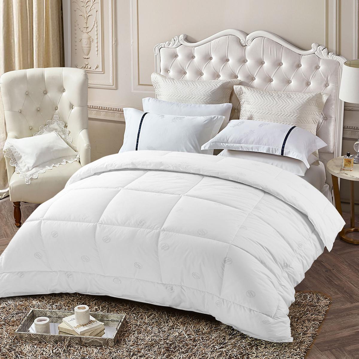 Ramada【年底清仓】全棉双人保暖床上用品纯棉厚被子空调被被子被芯COLOR白色