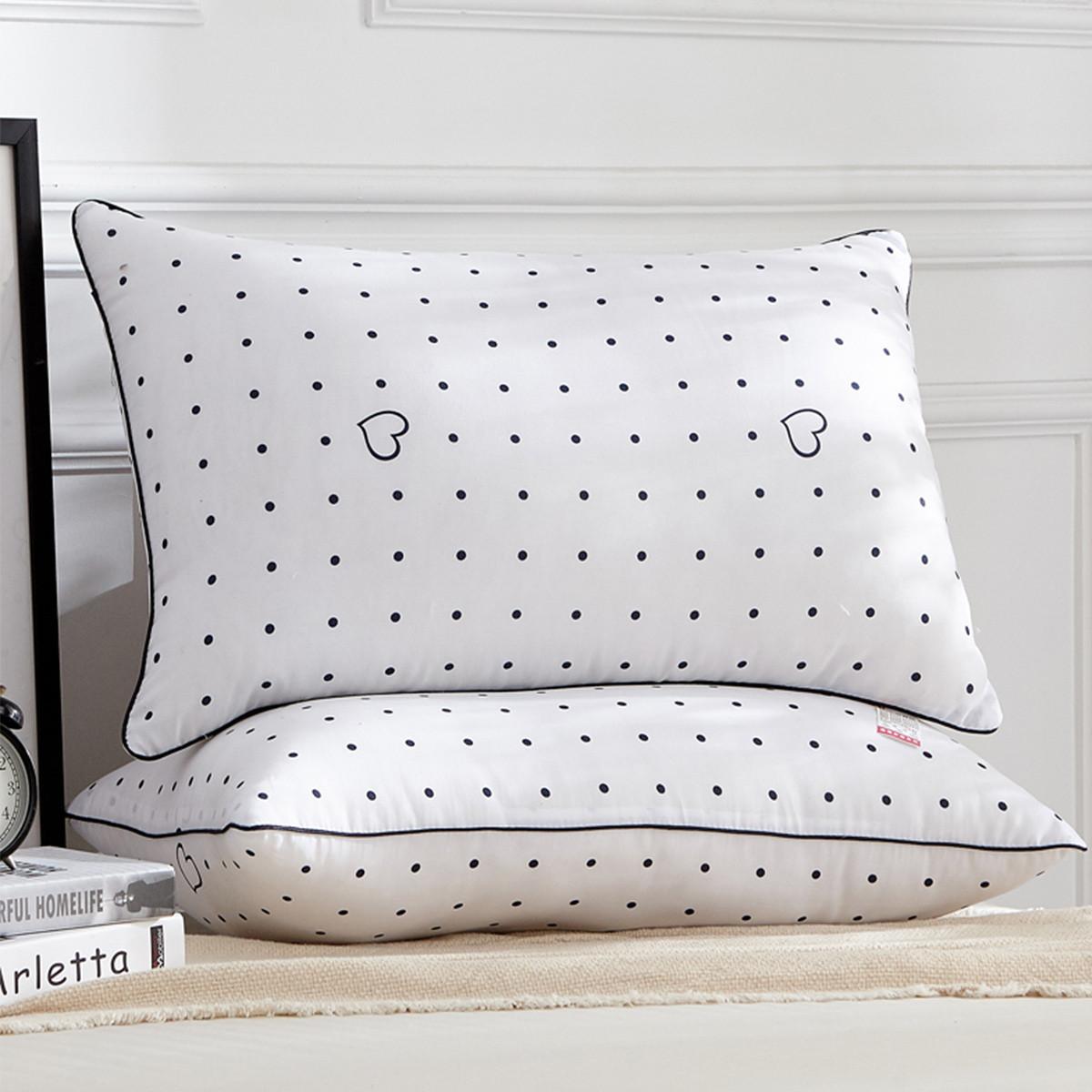 Ramada【年底清仓】柔系列简约舒适枕头羽丝绒护颈枕头芯枕芯枕头COLOR白色