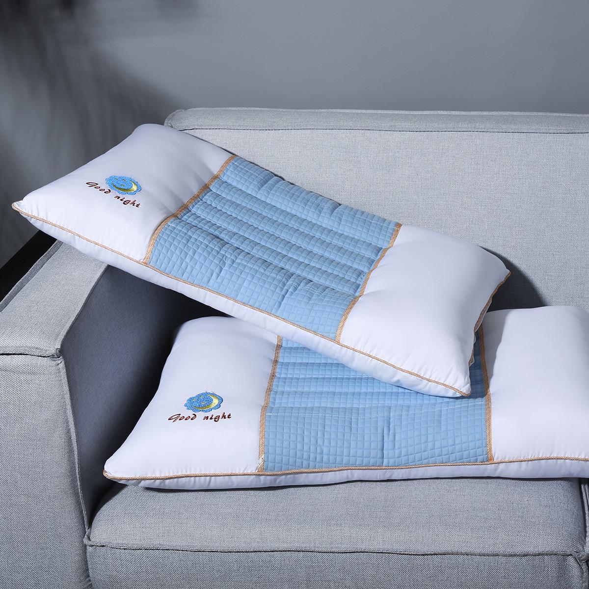 Ramada全棉枕芯床上用品枕头芯决明子枕头护颈椎枕头纯棉枕头枕芯枕头COLOR蓝色