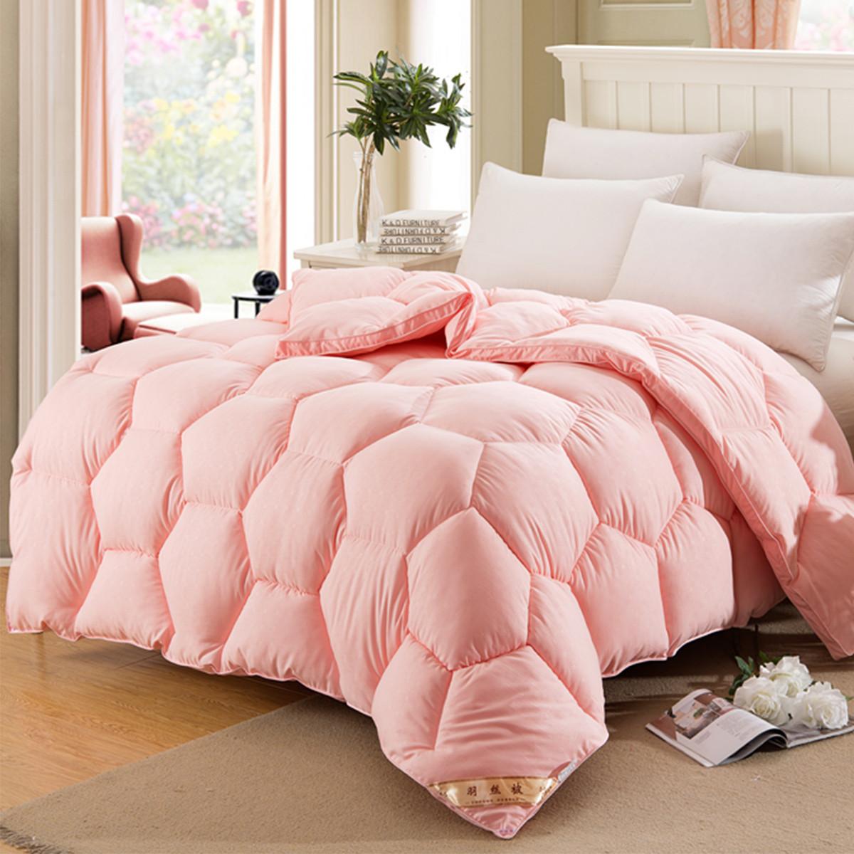Ramada【年底清仓】柔系列羽丝绒保暖被芯盖被床上空调被被子被芯COLOR玉色