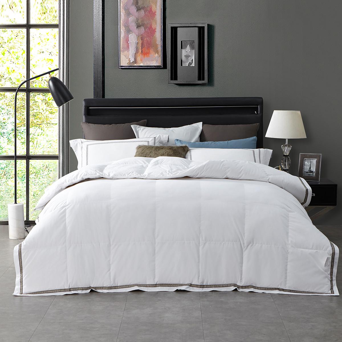 Ramada【年底清仓】全棉加厚保暖被子被芯冬被加厚盖被被芯空调被被子COLOR白色