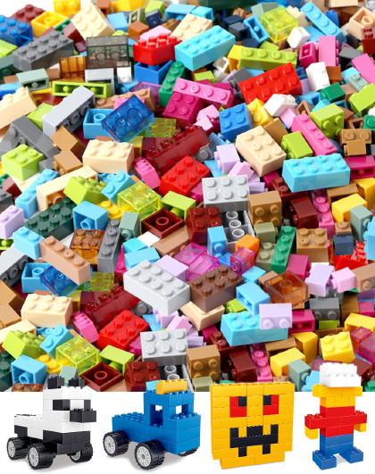 diy益智兼容乐高小颗粒积木幼儿园玩具拼装散装儿童拼插6-12岁