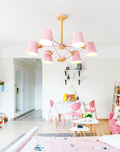 馬卡龍風格吊燈簡約現代客廳燈創意個性餐廳兒童房臥室燈北歐燈具