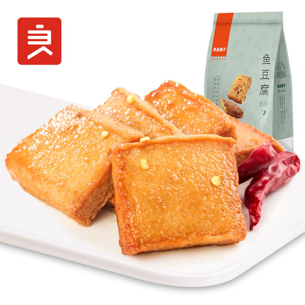 良品铺子良品铺子 鱼豆腐170g香辣味豆干COLOR鱼豆腐170g