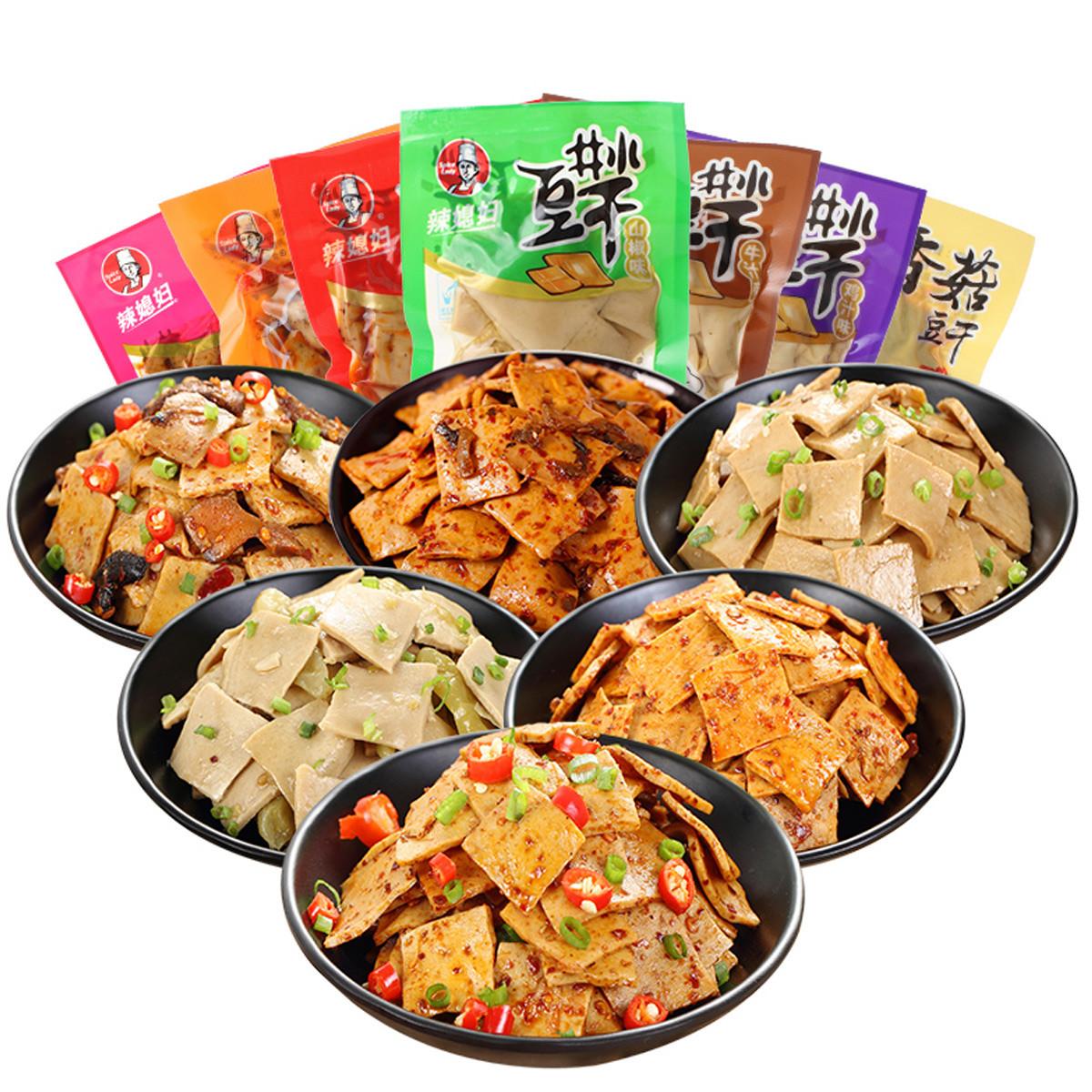 辣媳妇散装豆腐干小包装零食重庆特产小吃麻辣休闲零食豆干500gCOLOR其它颜色