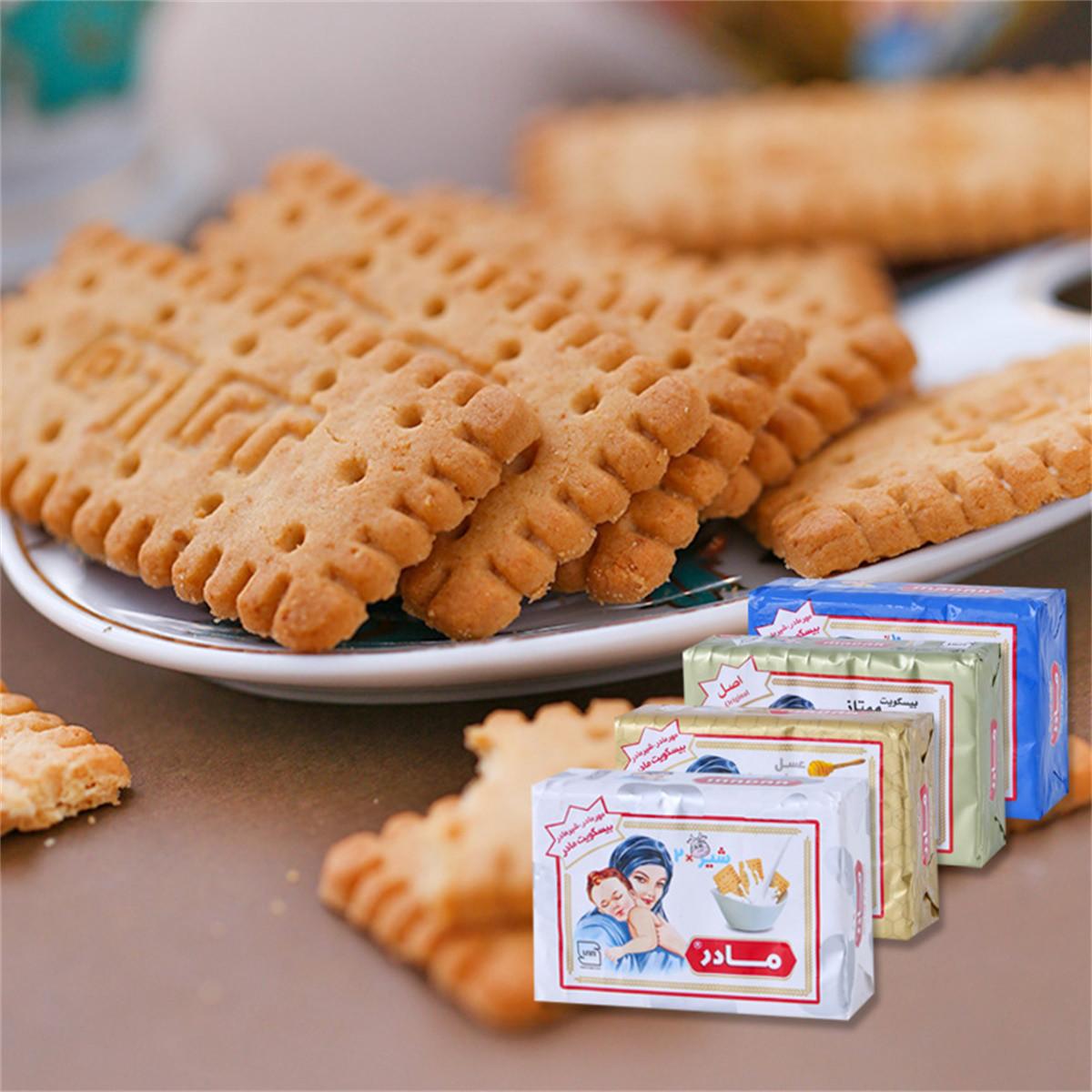 和風细语进口威塔娜妈妈饼干12包*70g牛奶蜂蜜椰子味儿童早餐饼干COLOR原味70g/盒