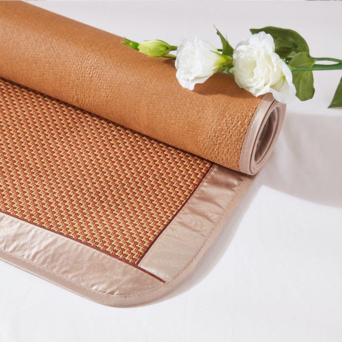 蔻姿 夏凉折叠透气 1.5米1.8m 简森 密藤席空调席子凉席三件套