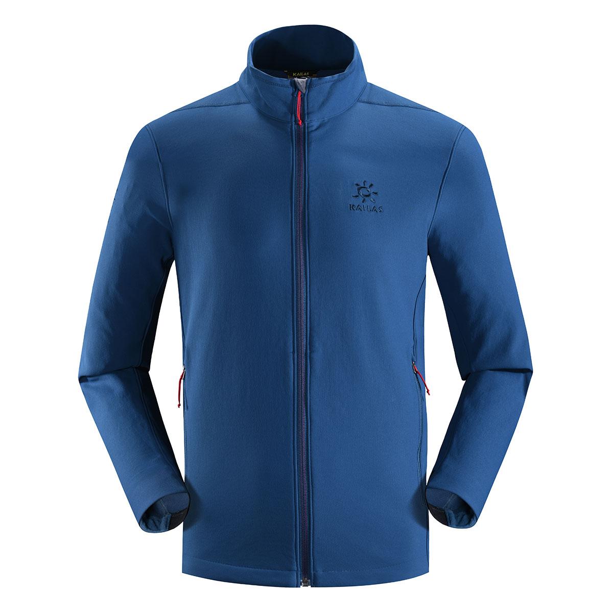 凯乐石保暖透气防风外套 男款软壳衣KG21028710052