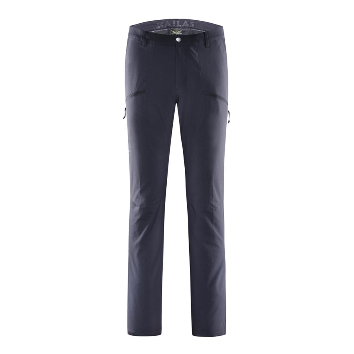 凯乐石户外登山徒步运动 男款微弹双层防风长裤KG51032217000