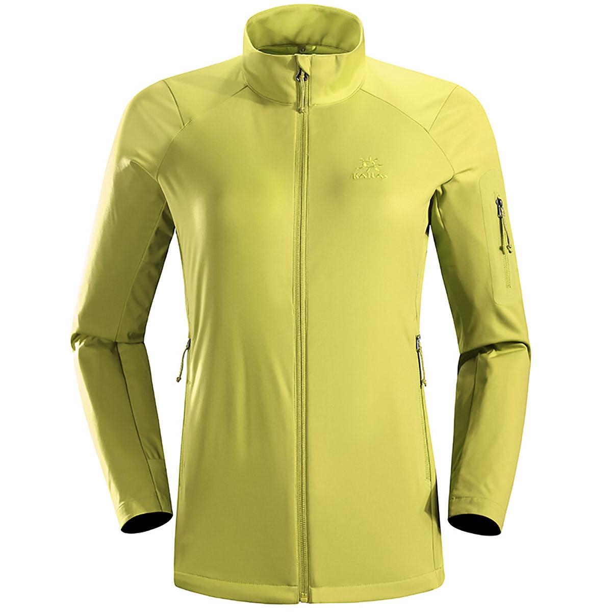 凯乐石户外运动徒步女款弹力防风软壳保暖外套KG20660813010