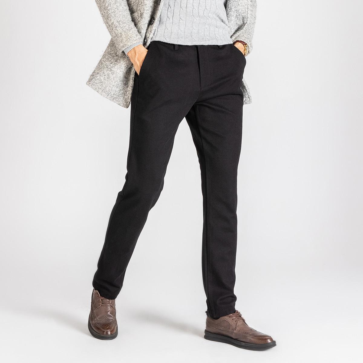 相思鸟【弹力舒适】红豆集团旗下新品首发直筒修身百搭男式休闲裤NDXHTK219SS1