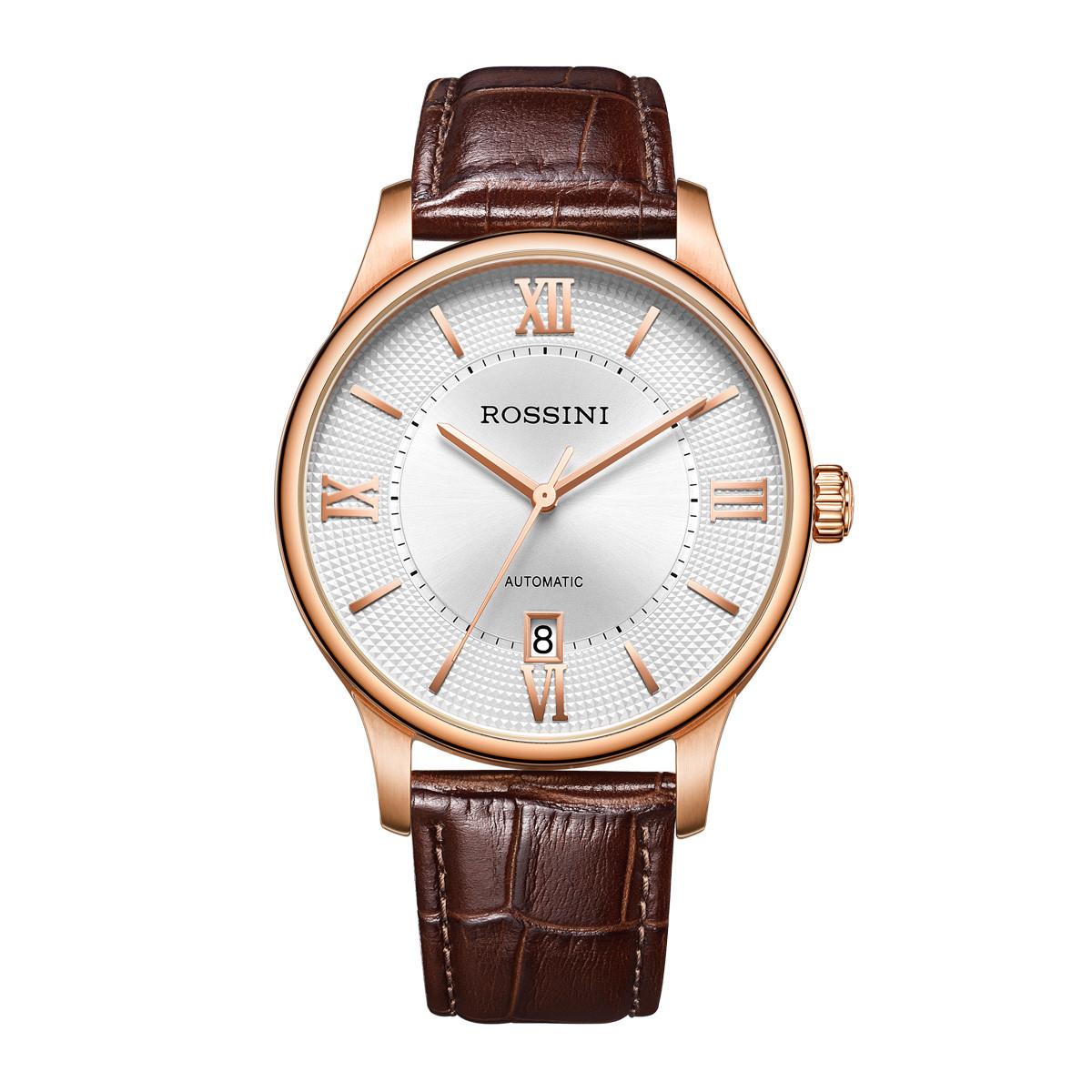 罗西尼畅销男士手表正品休闲商务自动机械防水男表男士机械517771GX517771G01D