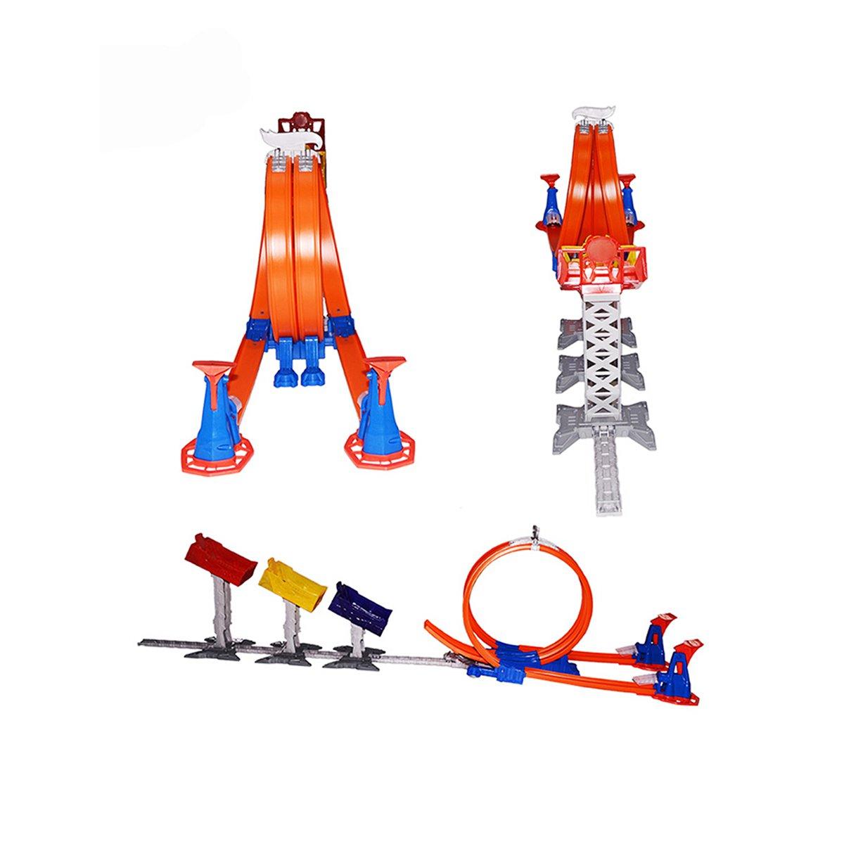 【男孩礼物】风火轮极限跳跃赛道儿童玩具(内含一辆小车)
