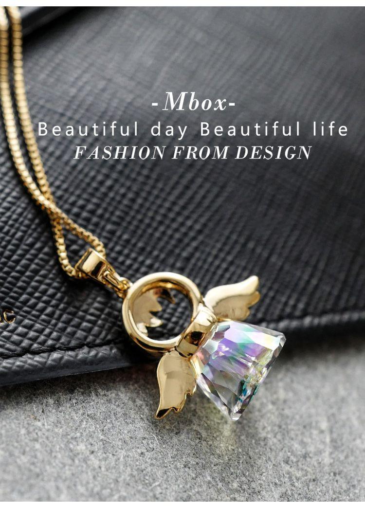 mbox 韩版时尚可爱小天使项链