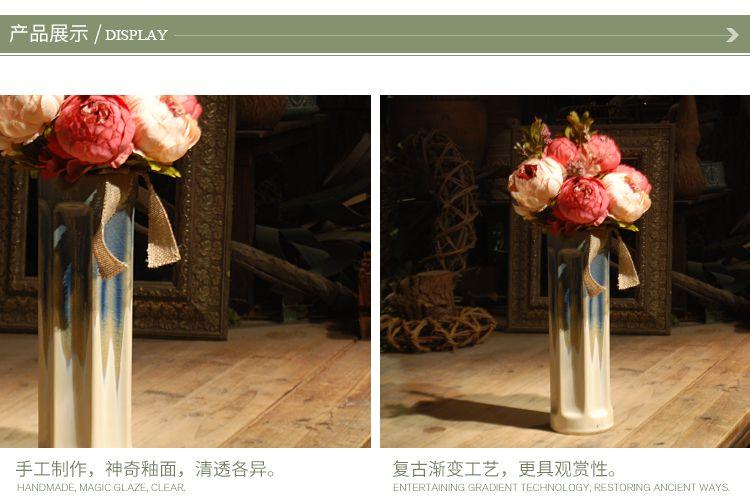 朵兰舍-陶瓷手绘花瓶加花整体花艺