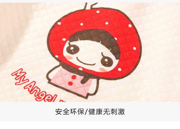 宝宝大红空气棉套装(可爱小红帽)
