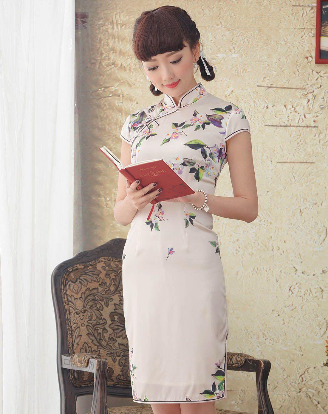 莺语 旗袍裙