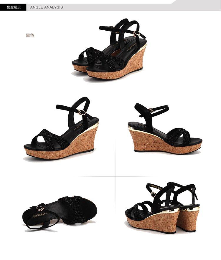 金色格利特pu休闲凉鞋 商品分类: 女凉鞋 产地: 中国 鞋底材料: 橡胶