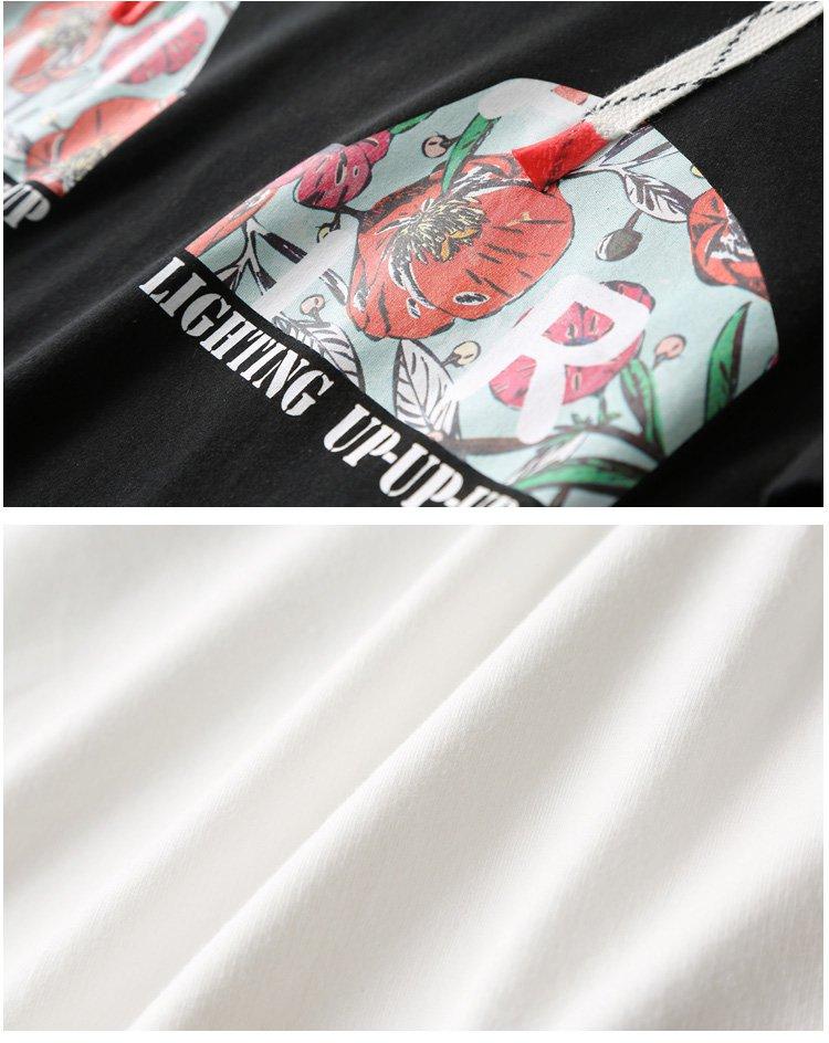 二次元图案短袖t恤