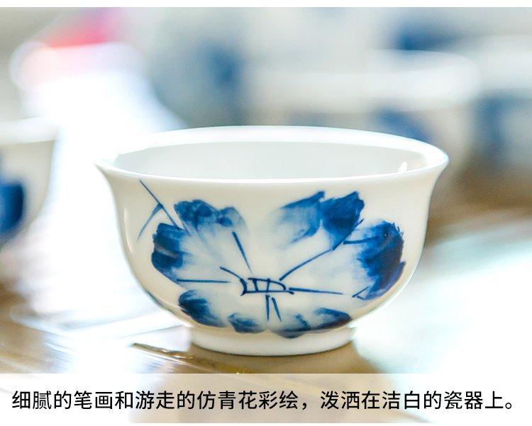 racekish手绘陶瓷茶壶茶杯功夫茶具套装rzh01434_唯品