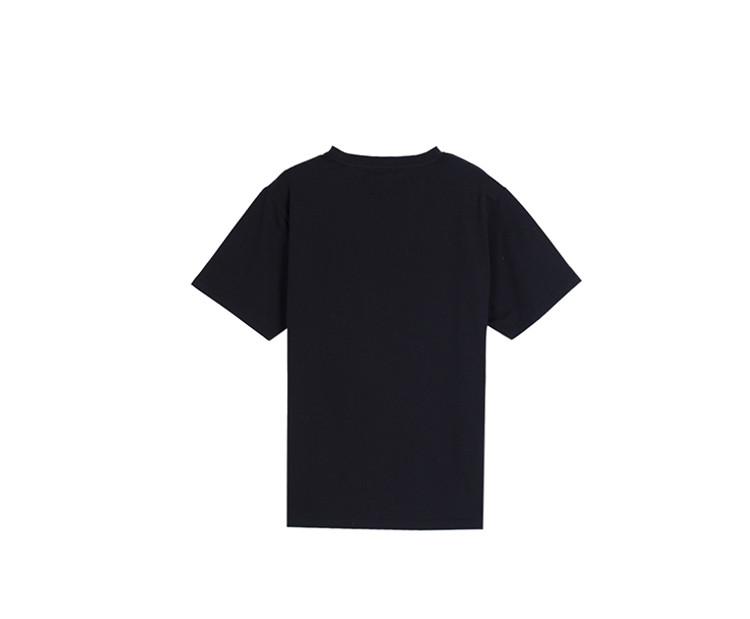 男装黑色短袖t恤