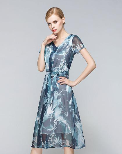 裙子女夏连衣裙显瘦气质修身