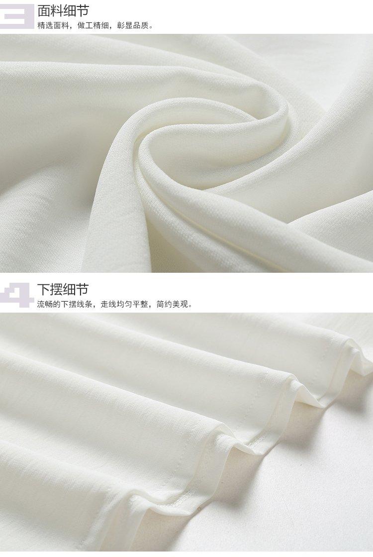 女式t恤 产地: 浙江 材质: 聚酯纤维100%           (装饰物除外) 洗