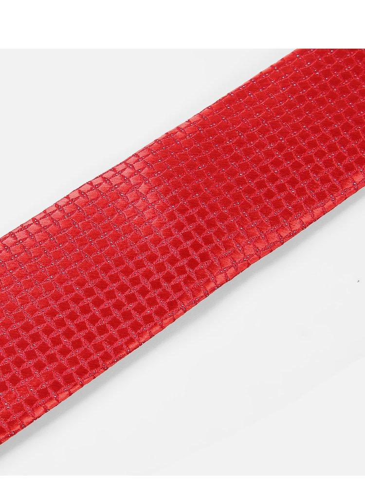 婚庆宴会领带2017秋季新品大红花纹男士箭头型领带