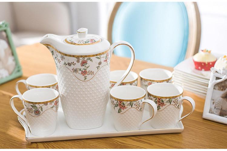 欧式陶瓷茶具套装图片