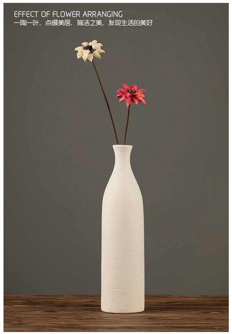 (多款可选)北欧创意陶瓷花瓶摆件装饰花瓶