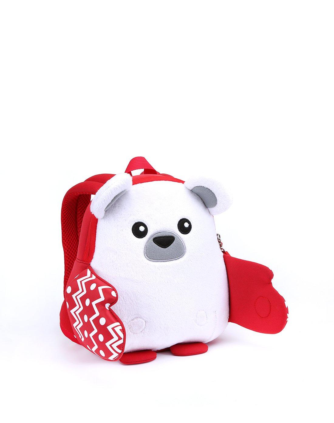 诺狐1-4岁超轻防水圣诞北极熊暖手v男女男女电影儿童园背包湾海豚4k图片