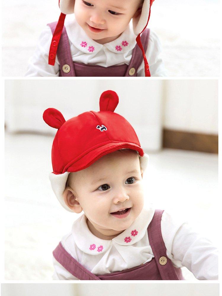 秋冬加厚加绒保暖帽星星小眼睛可爱护耳帽