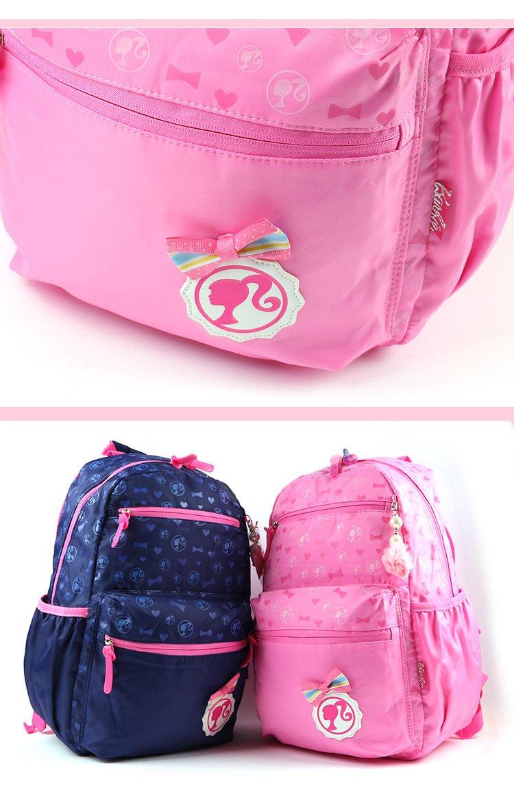 芭比娃娃女童时尚休闲背包
