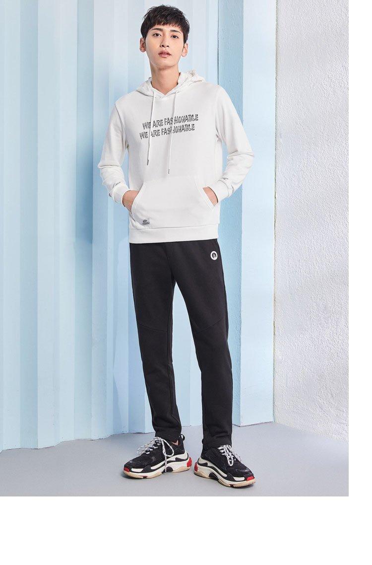 盛夏时尚穿搭法则--森马男装专场 森马2018新款韩版潮流小脚男士休闲图片