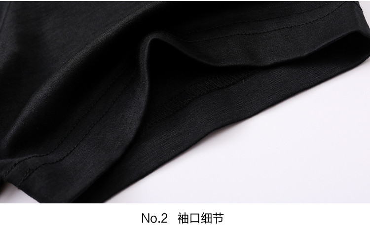2018新款烫银英文字母厚板胶印琼林美景树栩栩如生丝光棉圆领短袖男士