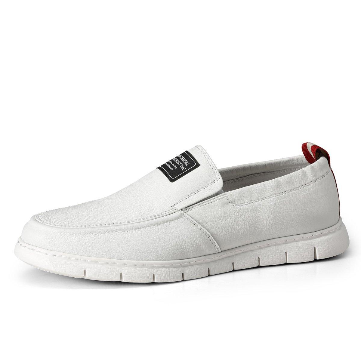 卡丹路春季新品 经典牛皮舒适套脚男鞋懒人鞋乐福鞋男士皮鞋DC188050820