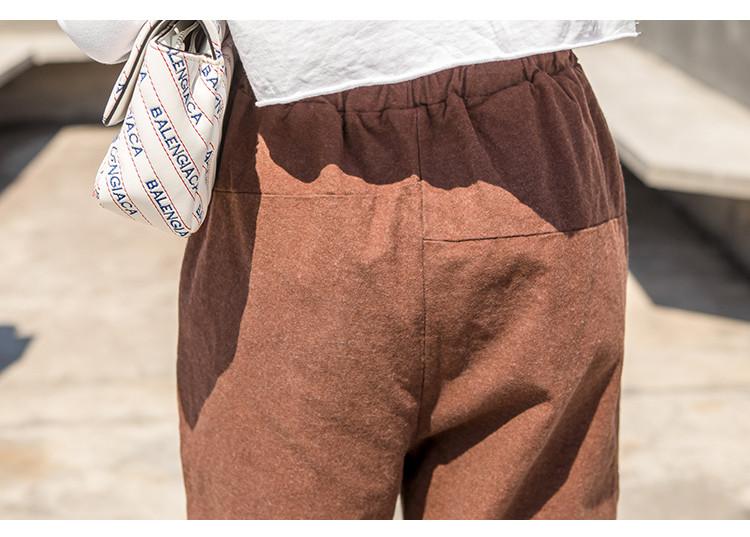 新款时尚哈伦休闲裤 时尚 潮流