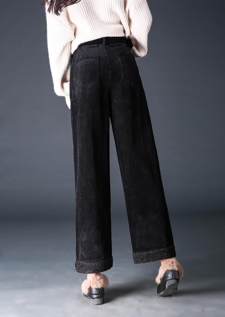 条绒裤男款图片