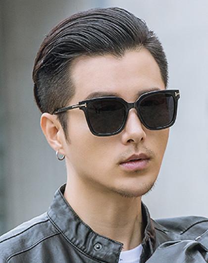 【人氣爆款】2019新款韓版墨鏡男士太陽鏡方形偏光潮眼鏡圖片