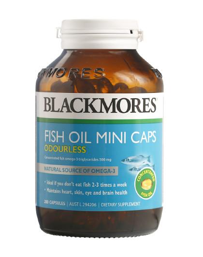 BLACKMORES 澳佳宝无腥味小粒深海鱼油胶囊200粒  护眼健脑呵护心脑血管