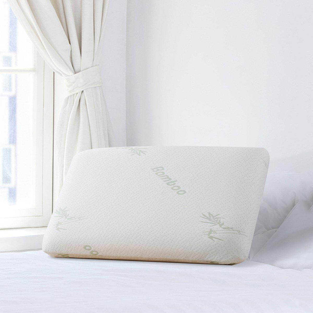 Ramada慢回弹太空记忆棉成人床上用品一对拍2面包记忆枕护颈椎枕头枕芯PL171017
