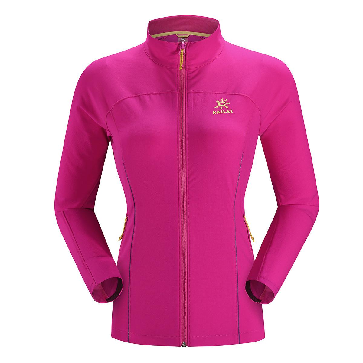 凯乐石女款透气舒适徒步防风外套软壳衣KG22016512018
