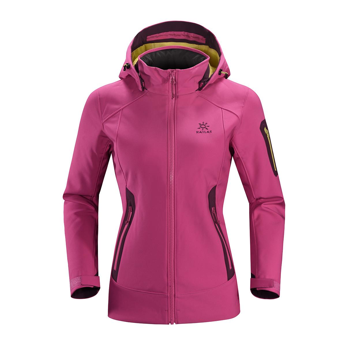 凯乐石秋冬潮流女款弹力运动户外徒步保暖风雪外套KG22022212037