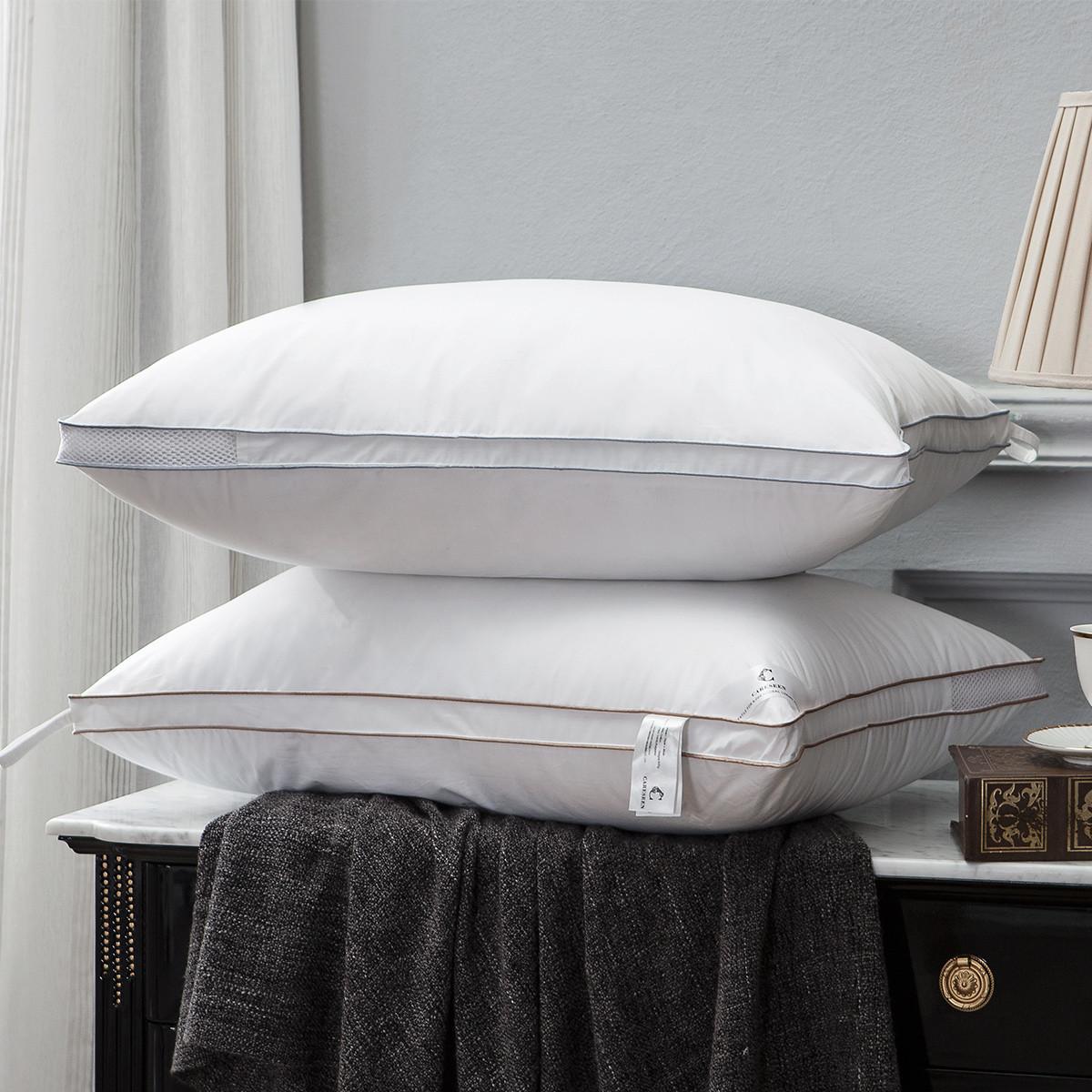 康尔馨五星级酒店枕头全棉面料透气柔软回弹护颈枕芯6925601517839